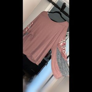 Umgee Boutique Waffle Top